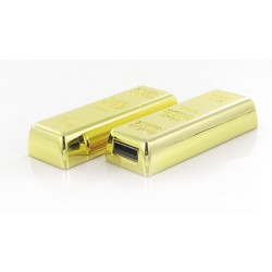 USB Stick Goldbarren