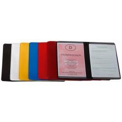 "CreativDesign Driving licence wallet ""2-fold""  Starfolie Biały"