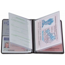 """CreativDesign Driving licence wallet """"4-fold"""""""