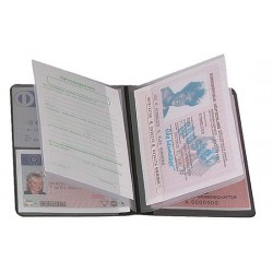 "CreativDesign Driving licence wallet ""4-fold""  Starfolie Biały"