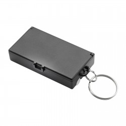 Tool set with keyring REFLECTS-UBERABA BLACK