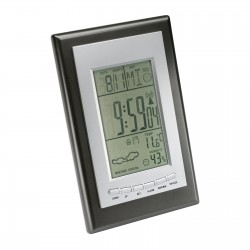Weather station with radio controlled clock REFLECTS-SAURIMO