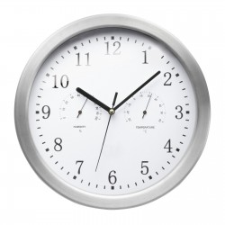 Wall clock with weather function REFLECTS-CLARKSBURG