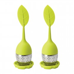 Set of 2 tea strainers REFLECTS-TYNEMOUTH