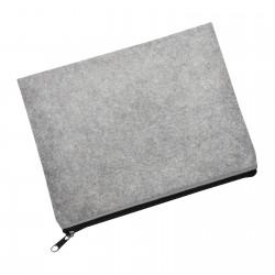 Filcowa torba z zamkiem błyskawicznym REFLECTS-RUDERSDALE LIGHT GREY