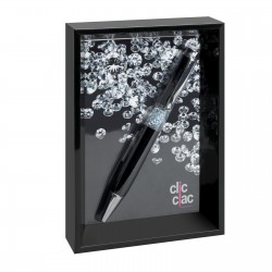 Picture frame with ballpen CLIC CLAC-BEKASI BLACK
