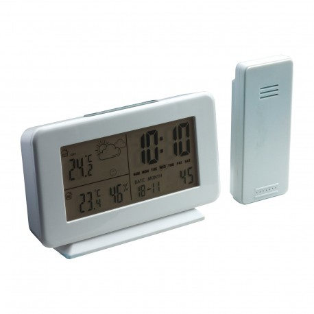 Weather station with outdoor sensor REFLECTS-YUCATÁN