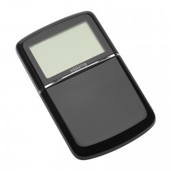 Calculator with world time clock REFLECTS-MASSENA WHITE