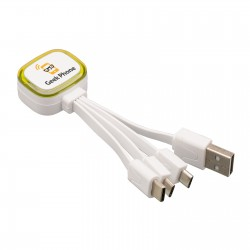 Multi USB charging cable REFLECTS-COLLECTION 500