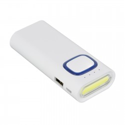 Powerbank 4400 mAh z latarką COB LED REFLECTS-COLLECTION 500