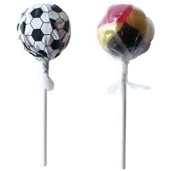 Football Round Lolly