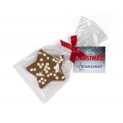 Czekoladowa Świąteczna Gwiazdka / Chocolate Christmas Star