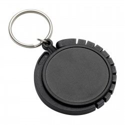 Keyring with bag hanger REFLECTS-GRAZ