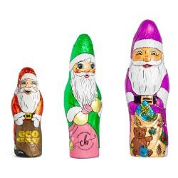 Personalizowany Czekoladowy Mikołaj / Personalized Chocolate Santa Claus