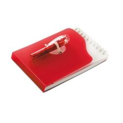 Plastikowy notes z długopisem Pacu