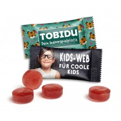 Cukierki przeciwkaszlowe / Kinder Em-eukal in Advertising Bag