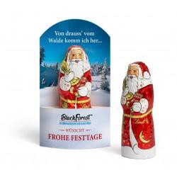"""Święty Mikołaj Lindt w kieszeni / Lindt Chocolate Santa Claus """"Carton Pocket"""""""