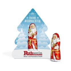 """Święty Mikołaj Lindt w choince / Lindt Chocolate Santa Claus """"Christmas Tree"""""""
