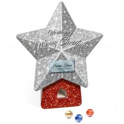 """Kalendarz adwentowy w kształcie gwiazdy Lindt Lindor / Lindt Lindor Advent Dispenser """"Star"""""""