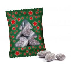 Świąteczne migdały w opakowaniu reklamowym / Christmas Almonds in Advertising Bag