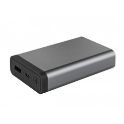 "Metmaxx® Powerbank 10.000mAh ""Mr.Charge CompactMetall10 """