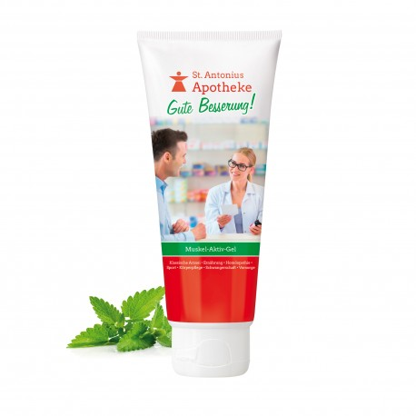 Żel do masażu mięśni i stawów, 100 ml (biały)