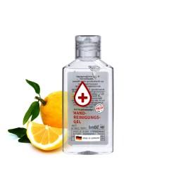 Żel do mycia rąk, 50 ml (przeźr. butelka), Etykieta przeźroczysta
