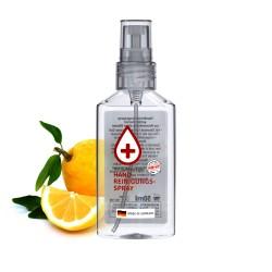 Spray antybakteryjny, 50 ml (przeźr. butelka), Etykieta przeźroczysta