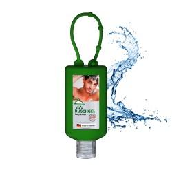 Żel pod prysznic, 50 ml Bumper (zielony), Etykieta