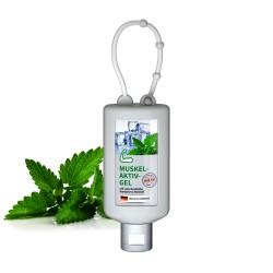 Żel do masażu mięśni i stawów, 50 ml Bumper (biały), Etykieta