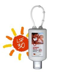 Sun Milk SPF 30, 50 ml Bumper (biały), Etykieta