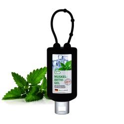 Żel do masażu mięśni i stawów, 50 ml Bumper (czarny), Etykieta
