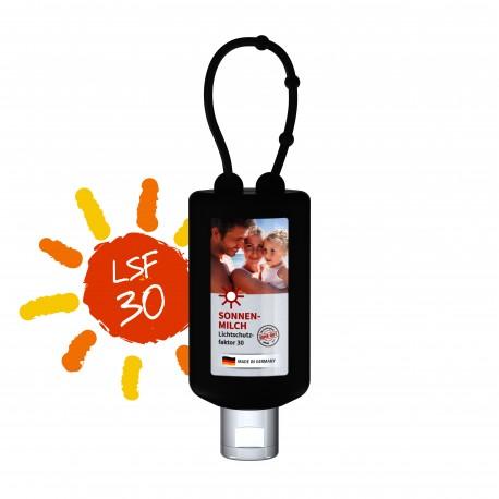 Mleczko przeciwsłoneczne SPF 30, 50 ml Bumper (czarny), Etykieta