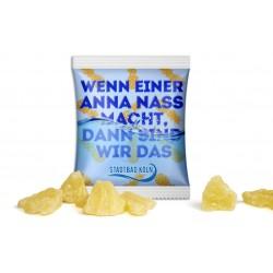 Suszone kawałki ananasa / Pineapple pieces sweetened in advertising bag