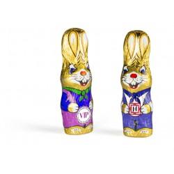 Personalizowany czekoladowy zając / Personalized chocolate Easter bunny