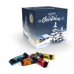 "Kalendarz adwentowy / Lindt HELLO Mini Advent Calendar ""Cube"" Eco"
