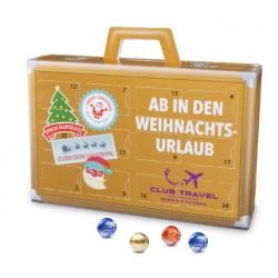 "Kalendarz adwentowy ""Walizka"" / Lindt Lindor Advent Calendar ""Suitcase"" Eco"
