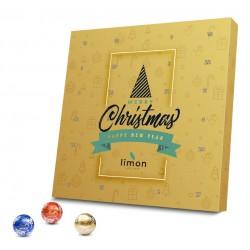 """Kalendarz adwentowy """"Lindor"""" /  Lindt Advent Calendar """"Lindor"""" Eco"""