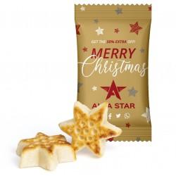 Gwiazda z marcepanu / Marzipan Star in Advertising Bag