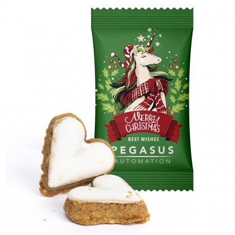 Jabłkowo-cynamonowe serduszko /  Apple-Cinnamon Heart in Advertising Bag