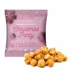 Popcorn karmelowy / Caramel Popcorn in Advertising Bag