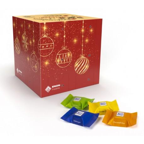 """Kalendarz adwentowy Ritter Sport """"Sześcian"""" /  Ritter Sport Advent Calendar """"Cube"""" Eco"""