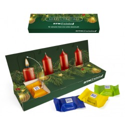 "Adwentowy box Ritter Sport / Ritter Sport ""Advent Box To Go"" Eco"