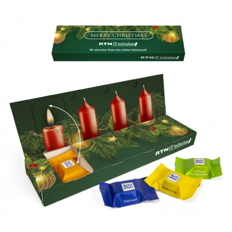 """Adwentowy box Ritter Sport /  Ritter Sport """"Advent Box To Go"""" Eco"""