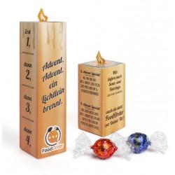 "Adwentowa świeczka Lindt Lindor /  Lindt Lindor ""Advent Candle"" Eco"