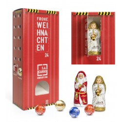 "Wieża adwentowa LIndt Lindor / Lindt Lindor Advent Dispenser ""Tower"" with Hollow Figure"