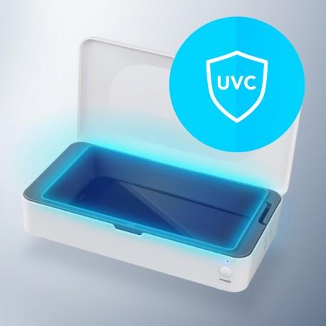 Pudełko dezynfekujące z ładowarką indukcyjną UV Sterilizer Box