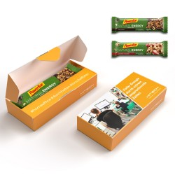 Baton energetyczny / Powerbar Natural Energy Riegel in personalized carton