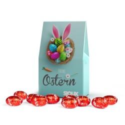 Czekoladowe Jajeczka Wielkanocne Lindt Lindor / Lindt Lindor Easter Eggs in block bottom carton