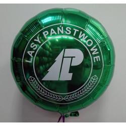 Balon fioliowy z nadrukiem